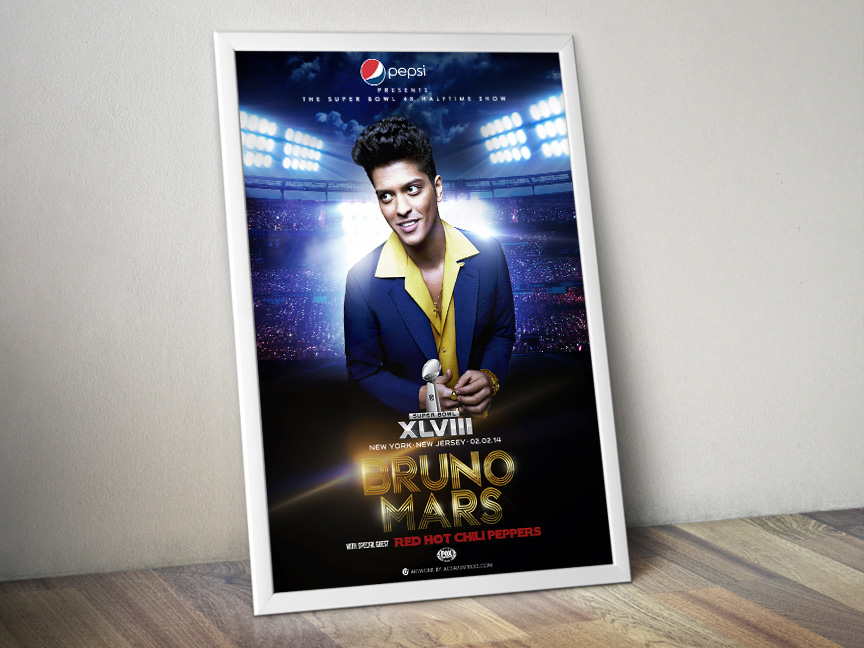 Bruno Mars – Super Bowl XLVIII