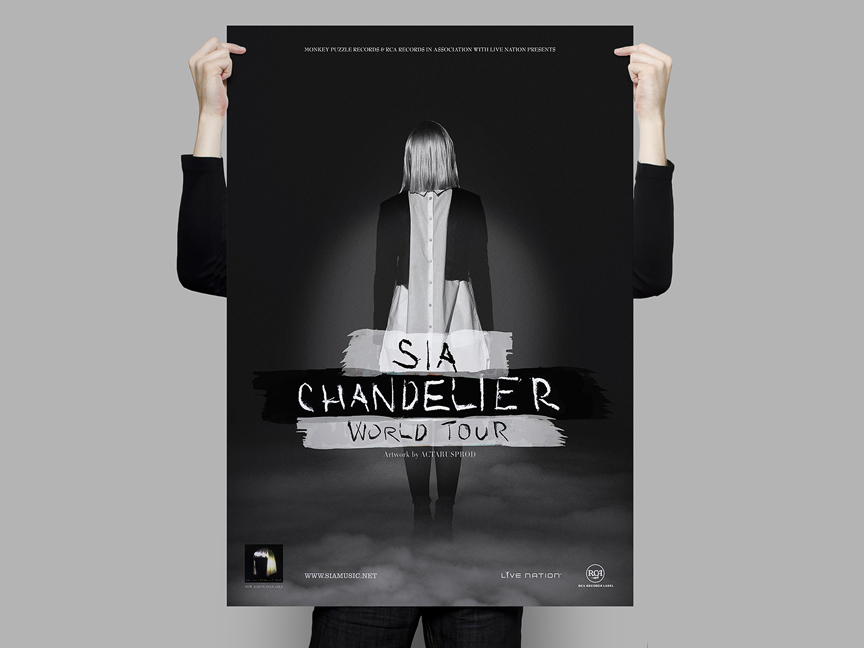 Sia – Chandelier World Tour