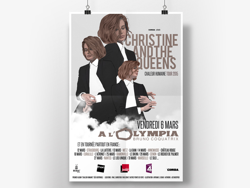 Christine and the Queens – Tour 2015